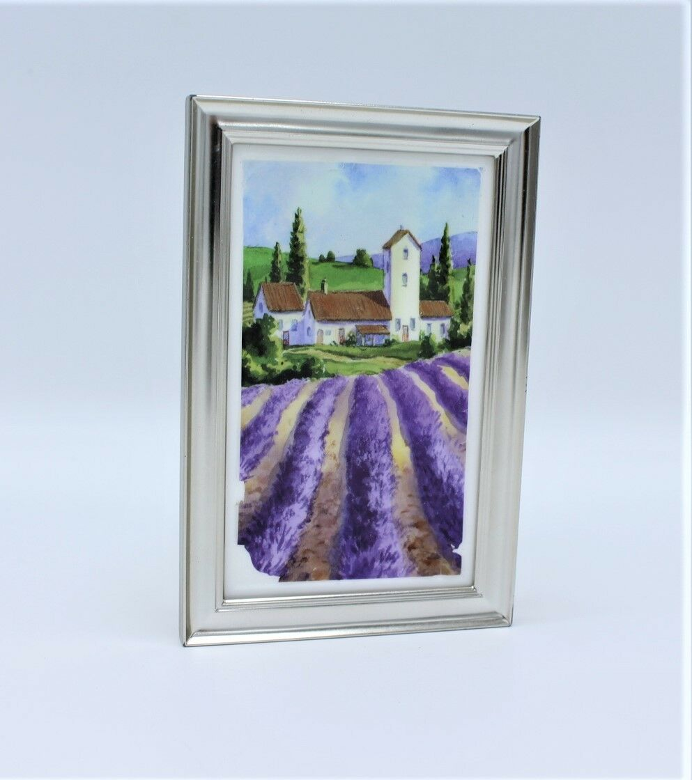 Bath & Body Works French Countryside Lavender Art Frame Wall