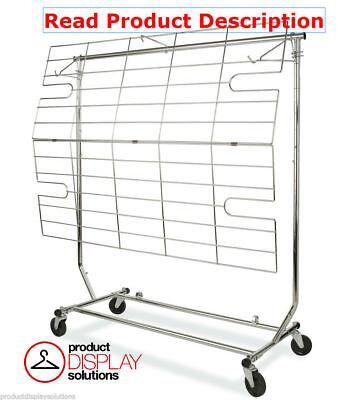 Screen Shelf Combination For Fodling Rolling Rack