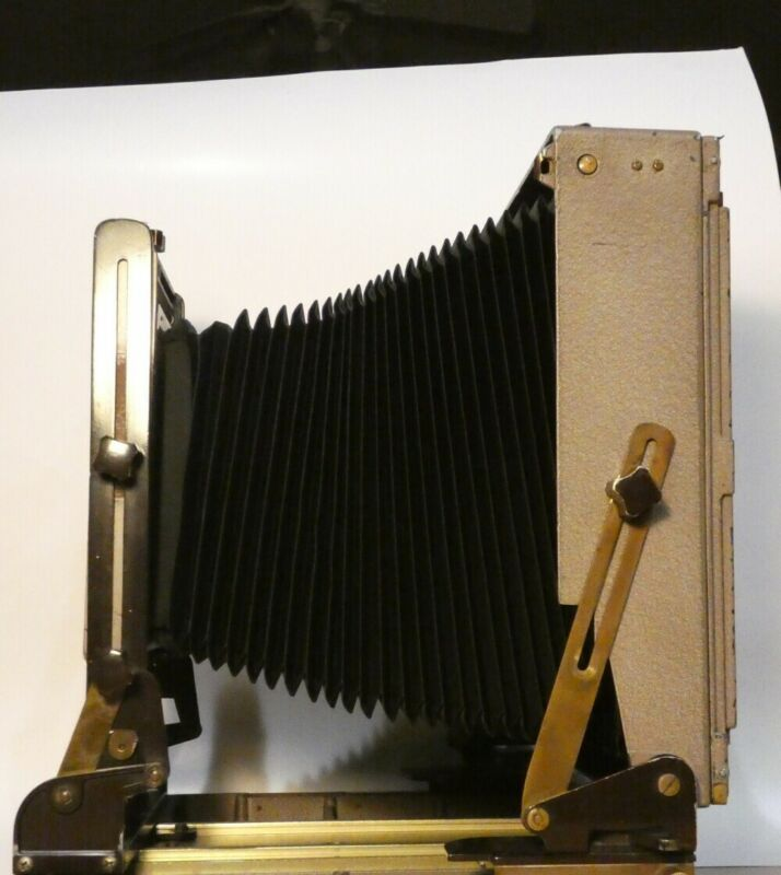 Kodak Master View 8x10 folding Camera with new bellows and boards