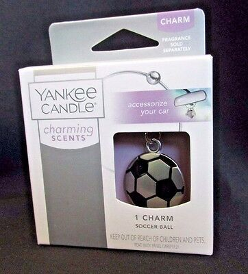 Yankee Candle Charming Scents Soccer Ball Charm Coach 2015 Stocking Stuffer Gift for sale  Shipping to India