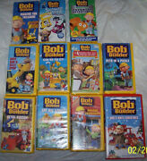 Bob The Builder VHS Lot