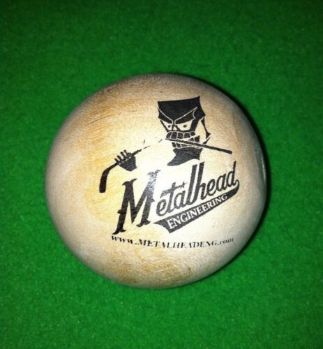 "Wood Stickhandling Balls 2"" - Lot of 10"
