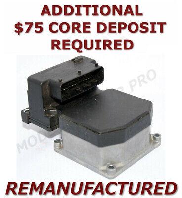 REMAN 99-02 Audi A4 A6 A8 Quattro ABS Pump Control Module 0273004284 >EXCHANGE
