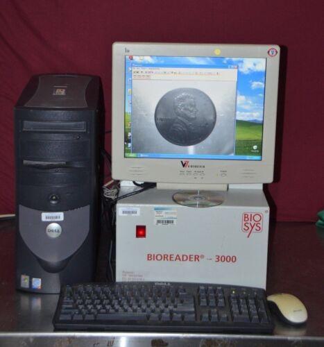 Biosys Bioreader 3000 Auto Macroscope Elispot Plate Reader Computer & Software