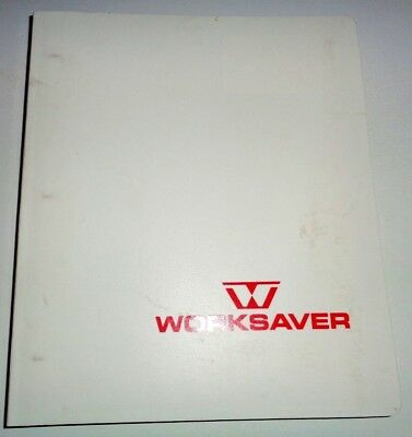Worksaver Farm Equipment Sales Manual Brochures Fork Lift Post Hole Diggermore
