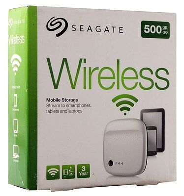 Seagate Archive 500GB HDD Wireless Mobile Storage