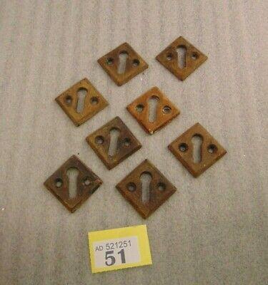 Job Lot Vintage Cast Iron Key Holes 51