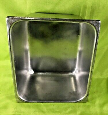Dura Ware 12 Size Stainless Steel Steam Table Pan 6 Deep No. 7126