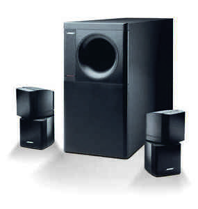 NEW BOSE ACOUSTIMASS 5 SERIES III SPEAKER SYSTEM BLACK