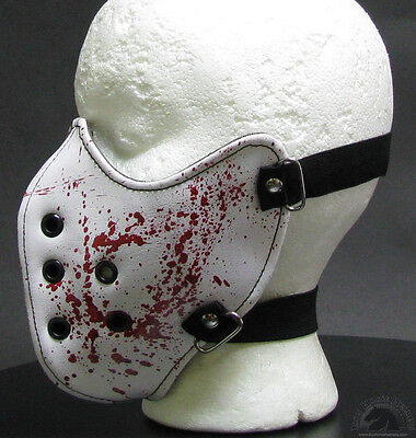 Bloody Hospital Face Mask Ski Muzzle Biker Chainsaw Halloween Silent Hill Nurse