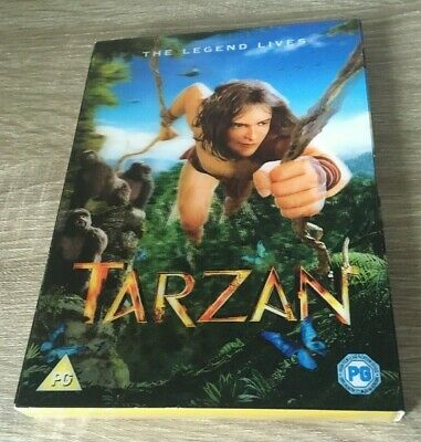 TARZAN THE LEGEND LIVES  (2014 EDITION) DVD IN 3D SLIP COVER BNIW FILM KIDS FUN  ()