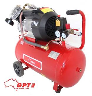 Industrial Air Compressor 50L 3HP, 2.2KW ELECTRICAL MOTOR 250 L/m Campbellfield Hume Area Preview