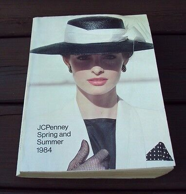 Vtg JC PENNEY CATALOG ~ SPRING and SUMMER 1984
