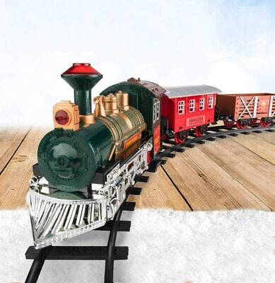 Traditional Christmas Train Set for Under The Tree Lights and Sounds