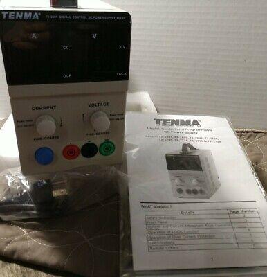 Tenma 60v 2a Variable Bench Power Supply