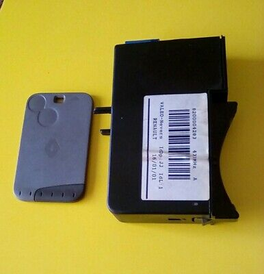 8200004283 Renault Laguna Mk2 Ignition Card reader and card VALEO 433MHz