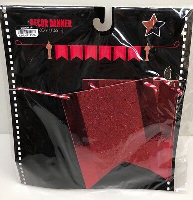1.51m VIP Hollywood Star Celebrity Award Show Red Carpet Banner Party Decoration
