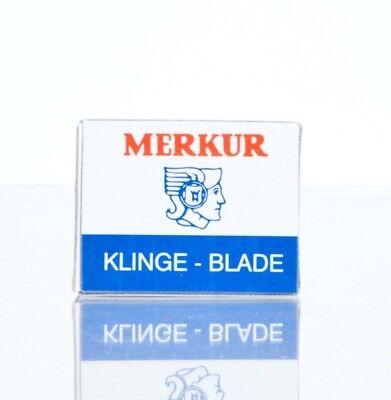 MERKUR Rasierklingen 10 Stück 90908100 passend für Schnurrbartrasierer