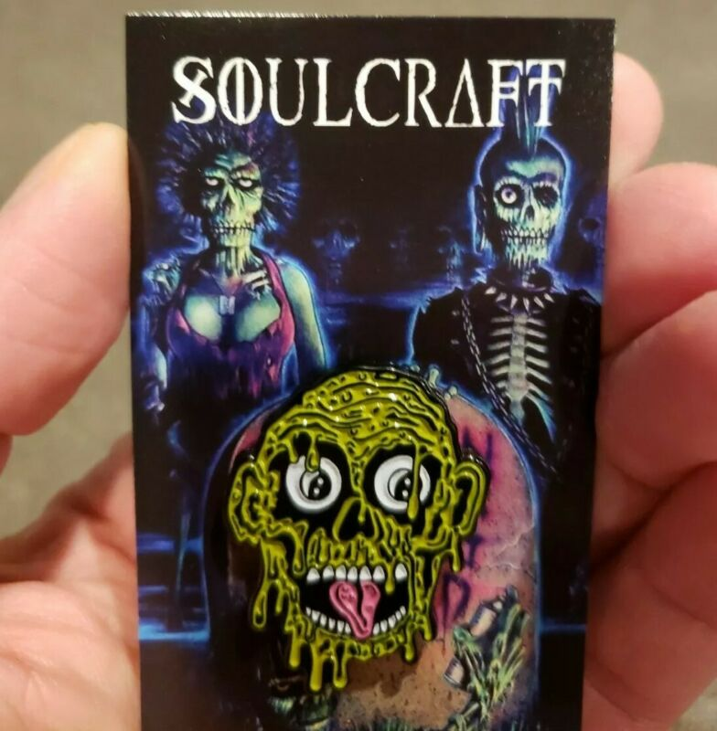 Return Of The Living Dead Horror Enamel Pin Glow In The Dark Zombies Tarman