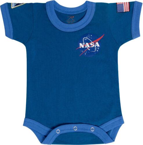 NASA Spaceball Baby Newborn Infant One Piece Suit Space Program USA Flag