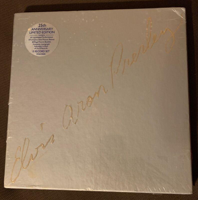 Sealed Elvis Aron Presley 25th Anniversary Limited Edition Vinyl 8 Record Album