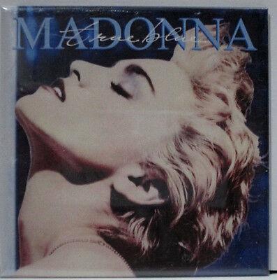"MADONNA TRUE BLUE MAGNET 3""X3"" SQUARE NEW"