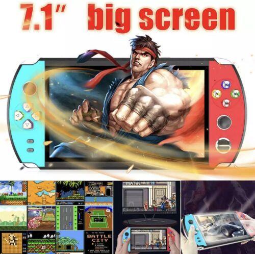 """X12 Plus 7"""" 16GB Retro PSP Game Consoles Handheld Portable G"""