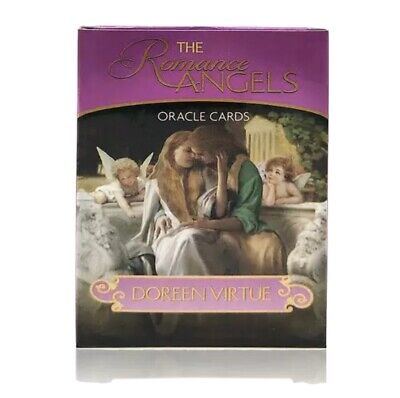 Romance Angels Oracle Cards Deck Angel Cards 44 Pack Angel Tarot Angel Oracle