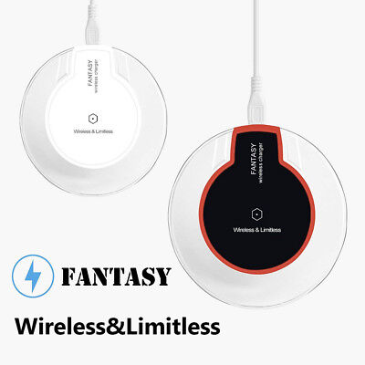 Qi Wireless Charger Crystal Fantasy Universal Charging Pad for iPhone (Crystal Pad)