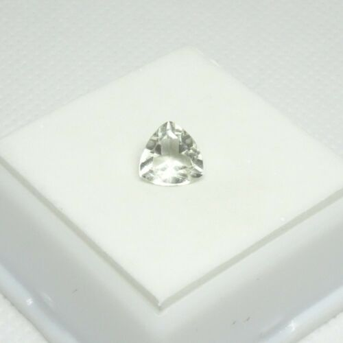 Rare! 1.17ct Sanidine 7.2mm Trillion - Chartreuse Sanidine Feldspar Gemstone