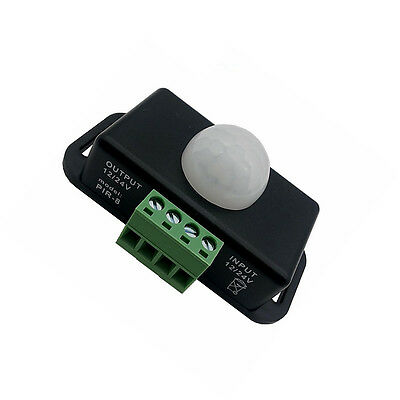 Automatic Dc 12-24v 8a Infrared Pir Motion Sensor Switch For Led Light Stylish K