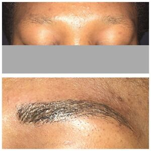 """Brow tattooing """"microblading"""""""