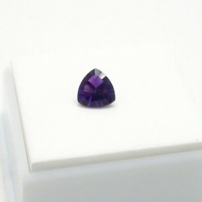Beautiful Purple Fluorite 1.30ct - Trillion - 7x7mm - Fluorite Loose Gemstone