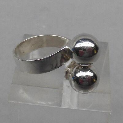 Schmuck- Design der 80er Jahre   RING    Silber 835   Grösse variabel ()