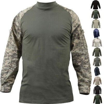 Tactical Combat Shirt Lightweight Military Uniform Heat Resistant Outdoor