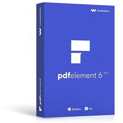 Wondershare PDFelement PRO 6 mit OCR MAC dt.Version Download