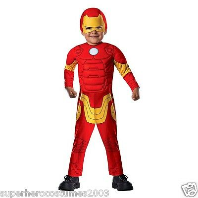 The Avengers Iron Man Toddler Costume 2T - 4T Brand New 620015 - Ironman Toddler Costume