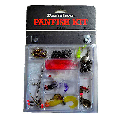 Danielson   Pk100   Great For The Tackle Box Panfish Fishermans Kit    New