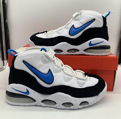 Nike Air Max Uptempo 95 Basketball Mens Shoes White Blue CK0892-103 Orlando