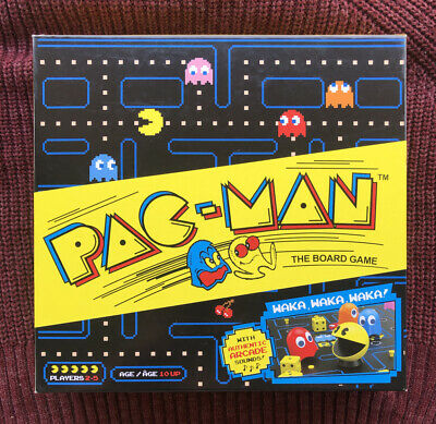 Pac-Man Board Game 2019 80's Retro Arcade NEW Open Box Arcade Sounds