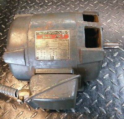 South Bend 16 Lathe 1.5hp Westinghouse 3 Phase Motor 78 Shaft Local Pickup