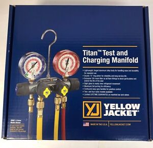 Yellow Jacket 49967 - TITAN Manifold, 3-1/8