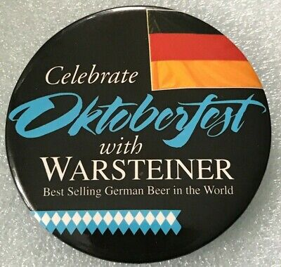 Warsteiner Pin~Best Selling German Beer in World~Celebrate Oktoberfest