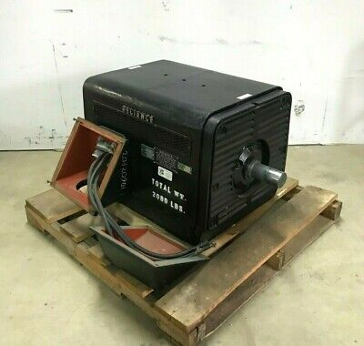 Reliance 350 HP, 1776 RPM, 575V 318A Industrial Electric Motor, 5005S Frame