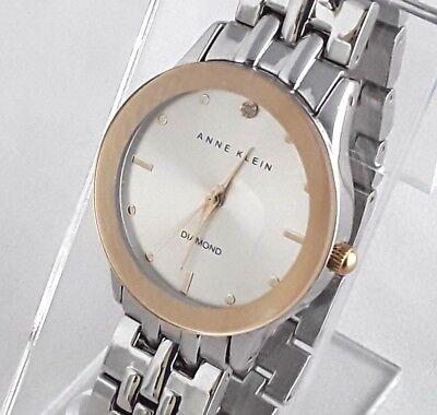 Anne Klein Women's Diamond Two-Tone Watch - AK/1231