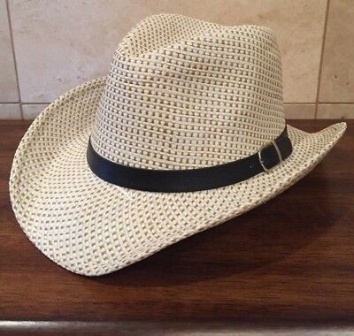 Women's / Ladies Western Cowgirl Creme Hat (Cheap Cowgirl Hat)