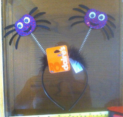 Spider Head band Halloween Cute Claire's Claires Accessories £4.50 RRP](Claire's Accessories Halloween Costumes)