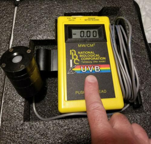 National Biological Corporation UVB 500C light meter