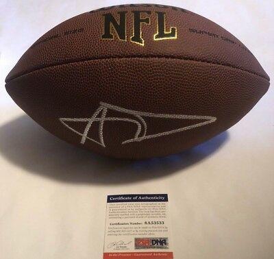 c4578574013 Aaron Donald Autographed Full Size NFL Football PSA DNA COA