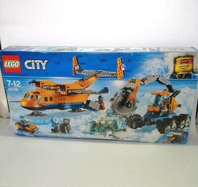 LEGO 60196 City Arctic Supply Plane New Sealed Retired - Imperfect Packaging